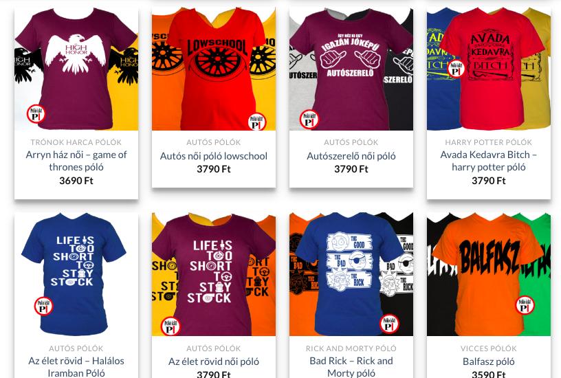 4ef152e463 Egyedi póló vásárlás! | onlineadotanacsadas